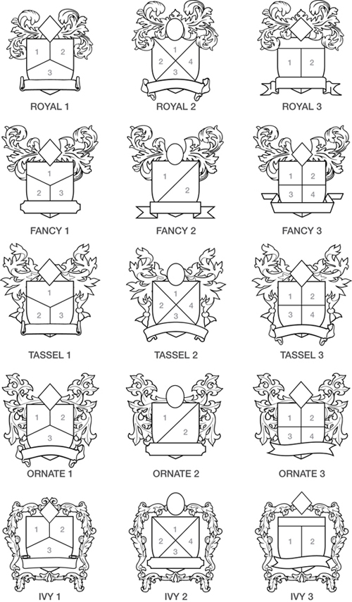 Family Shield Crest Designs http://app.formassembly.com/forms/view/10015