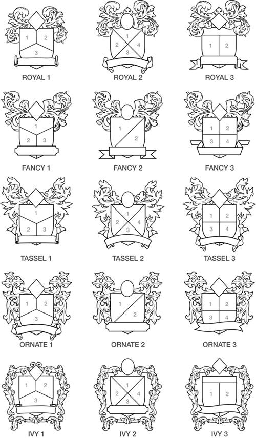 Family Crest Factory Online Design Form