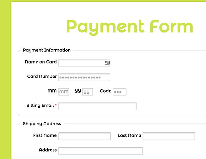 payment form template - Teacheng.us